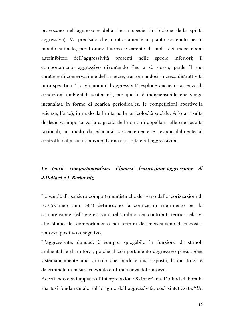 Anteprima della tesi: L'interazione tra fattori genetici e ambientali nelle condotte aggressive e antisociali degli adolescenti: il ruolo del polimorfismo MAOA (monoamina ossidasi-A), Pagina 9