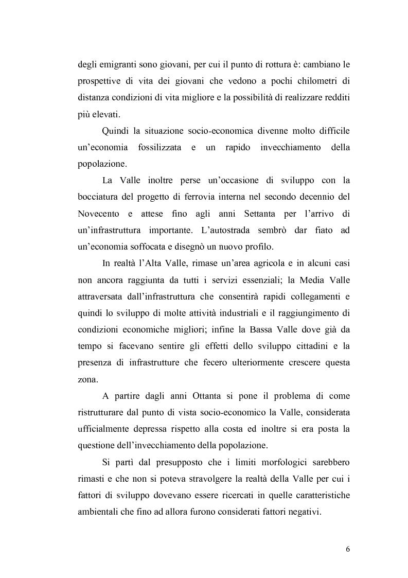 Anteprima della tesi: L'economia della Val di Vara tra Otto e Novecento, Pagina 4