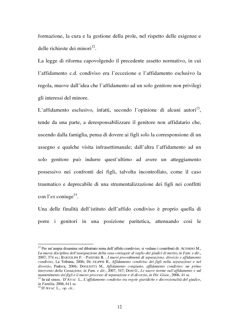 Anteprima della tesi: Affido condiviso, Pagina 10