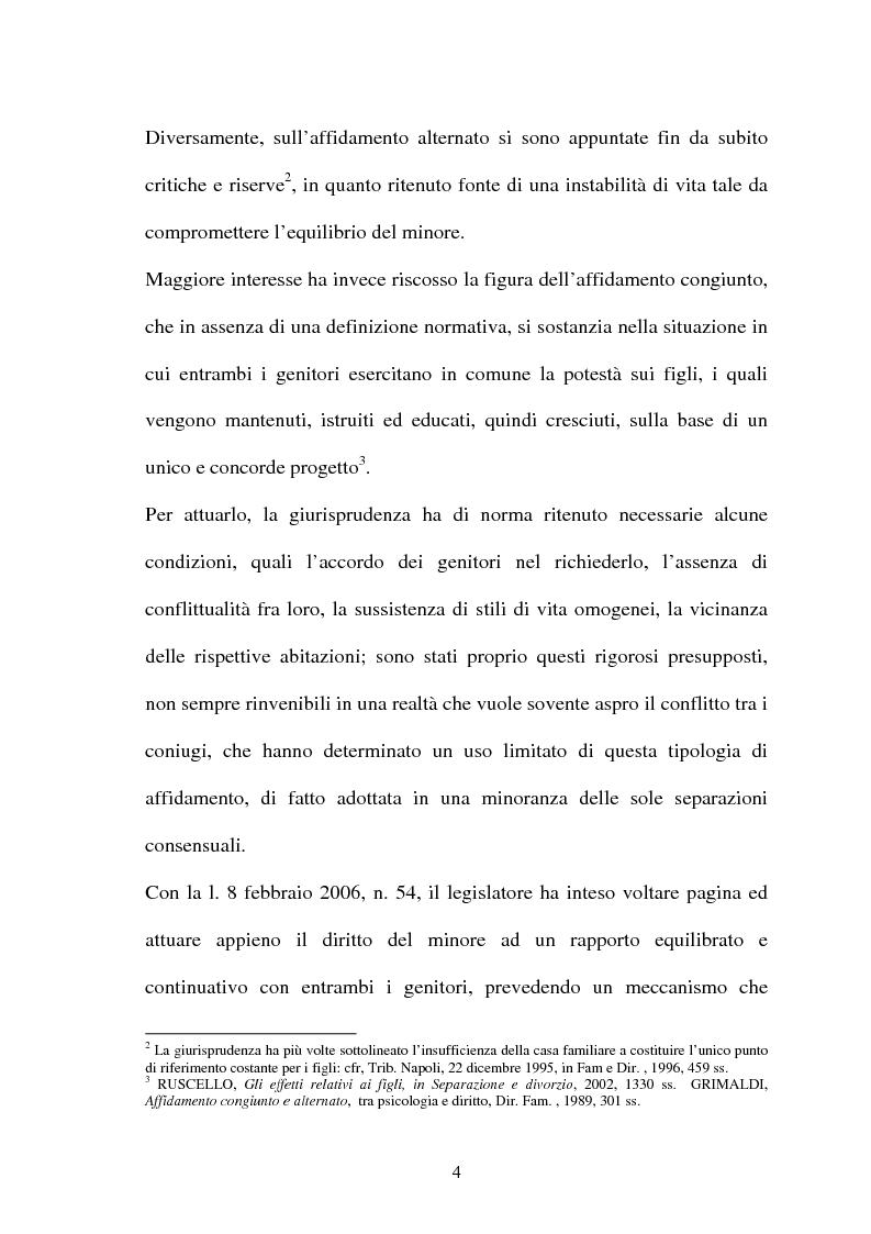 Anteprima della tesi: Affido condiviso, Pagina 2