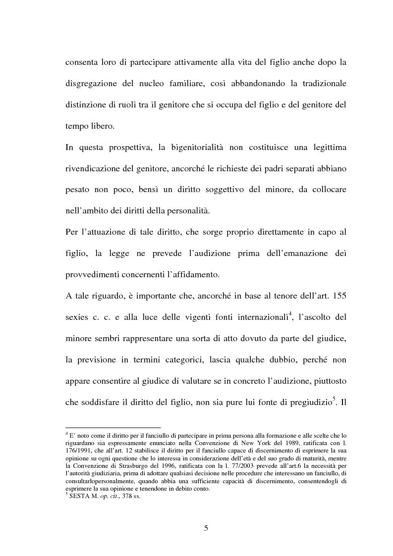 Anteprima della tesi: Affido condiviso, Pagina 3