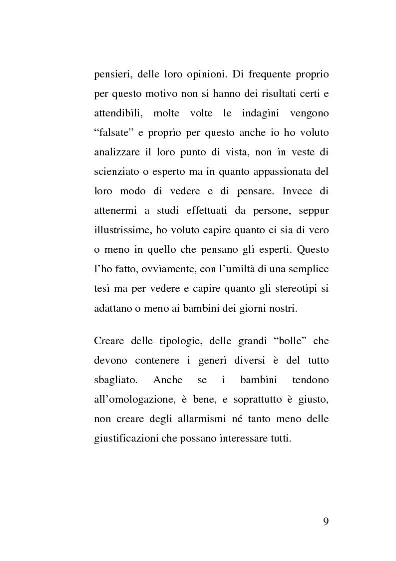 Anteprima della tesi: La crescita socio - emotivo - cognitiva del bambino attraverso lo spot e la tutela dei minori, Pagina 3
