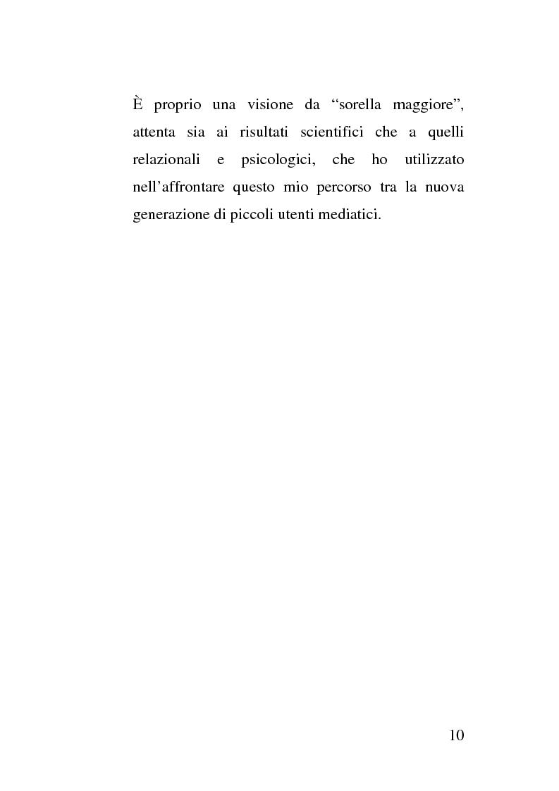 Anteprima della tesi: La crescita socio - emotivo - cognitiva del bambino attraverso lo spot e la tutela dei minori, Pagina 4