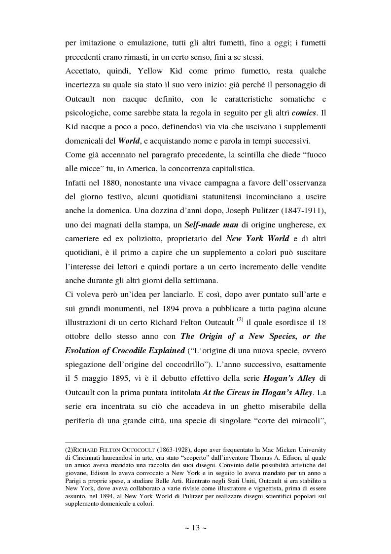 Anteprima della tesi: La comunicazione massmediologica nel fumetto: un'analisi, Pagina 12