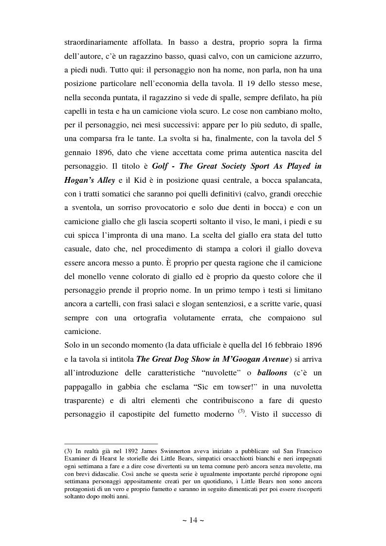 Anteprima della tesi: La comunicazione massmediologica nel fumetto: un'analisi, Pagina 13
