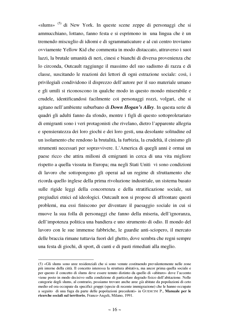 Anteprima della tesi: La comunicazione massmediologica nel fumetto: un'analisi, Pagina 15