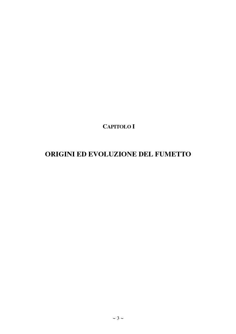Anteprima della tesi: La comunicazione massmediologica nel fumetto: un'analisi, Pagina 3