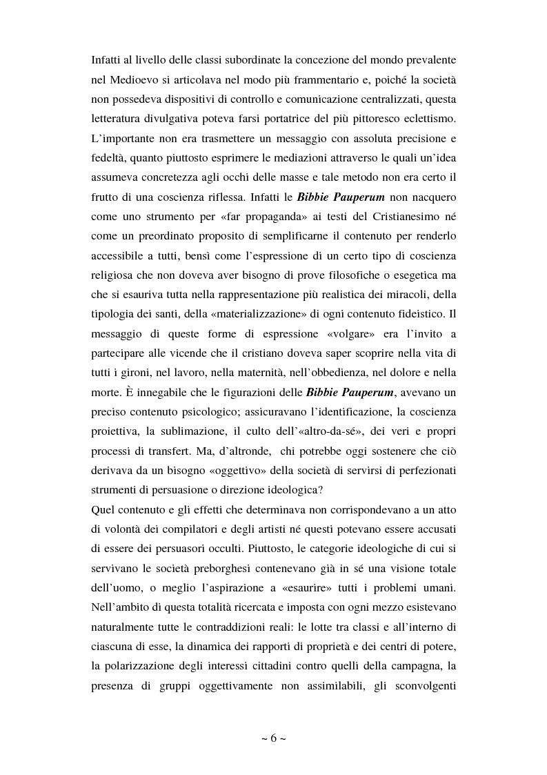 Anteprima della tesi: La comunicazione massmediologica nel fumetto: un'analisi, Pagina 5