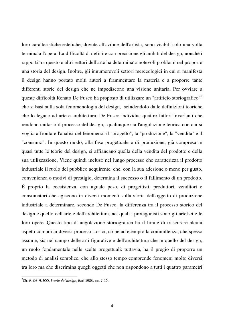 Anteprima della tesi: Design e produzione grafica in Campania nella seconda metà del 900, Pagina 4