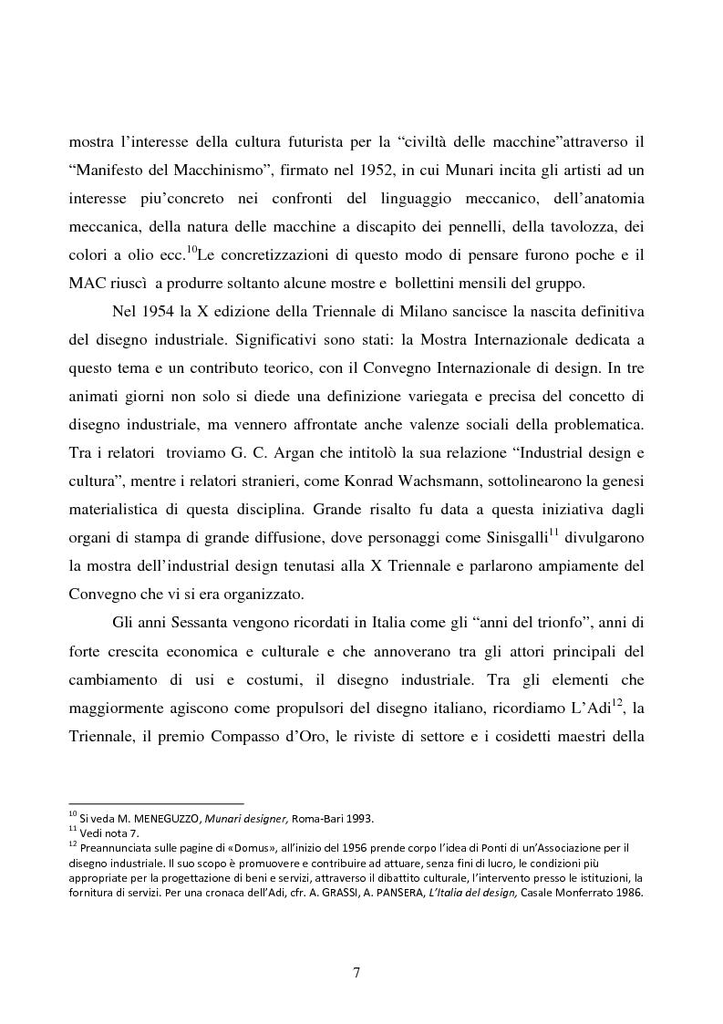 Anteprima della tesi: Design e produzione grafica in Campania nella seconda metà del 900, Pagina 7