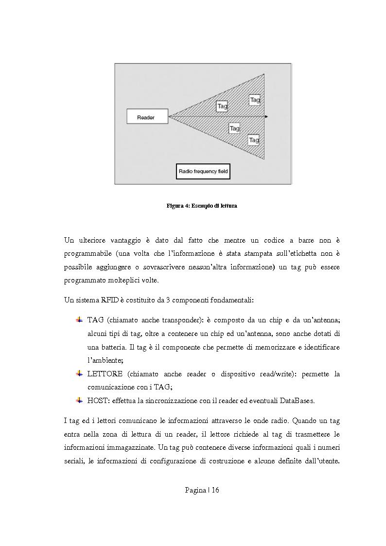 Anteprima della tesi: Sicurezza per Radio Frequency Identification: tracciare le merci preservando la privacy, Pagina 8
