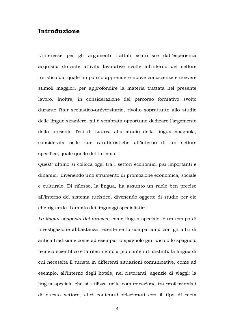 Anteprima della tesi: Il linguaggio del turismo: la traduzione dei realia tra linguaggio specialistico e lingua di cultura, Pagina 1
