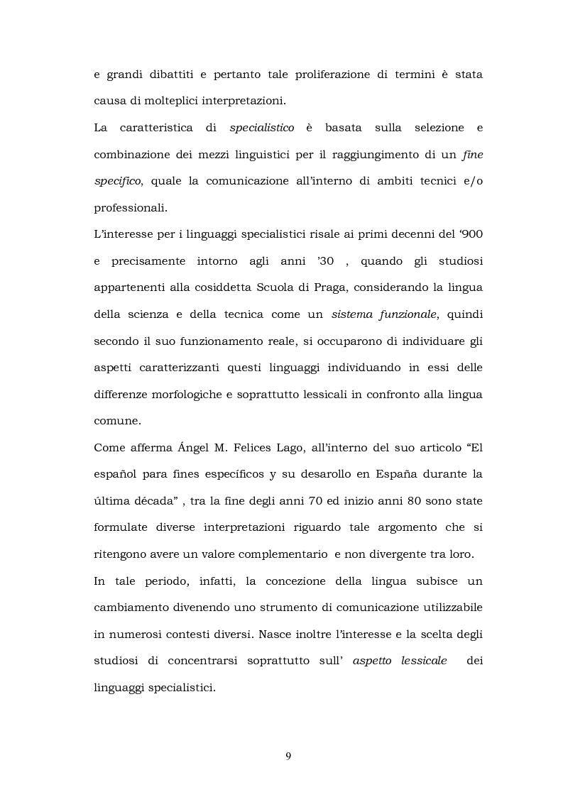 Anteprima della tesi: Il linguaggio del turismo: la traduzione dei realia tra linguaggio specialistico e lingua di cultura, Pagina 6
