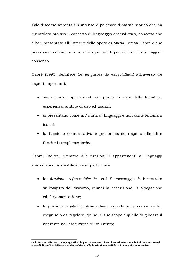 Anteprima della tesi: Il linguaggio del turismo: la traduzione dei realia tra linguaggio specialistico e lingua di cultura, Pagina 7