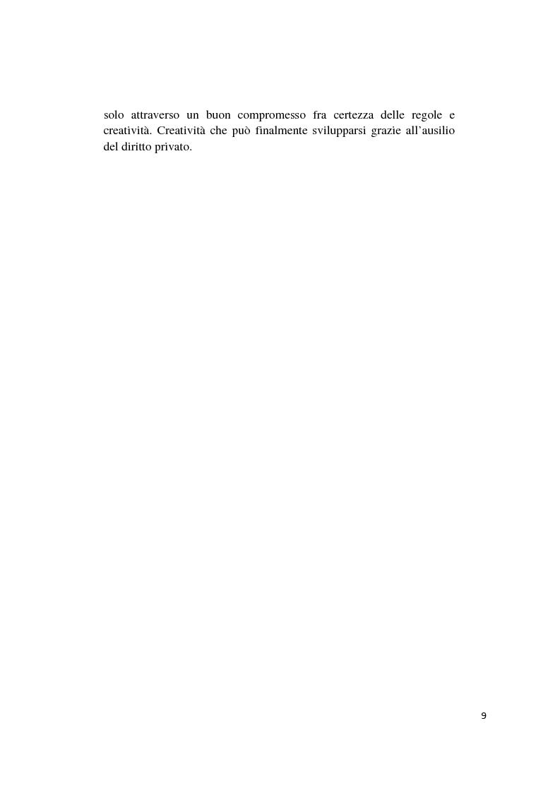 Anteprima della tesi: Gli accordi integrativi e sostitutivi del procedimento amministrativo, Pagina 7