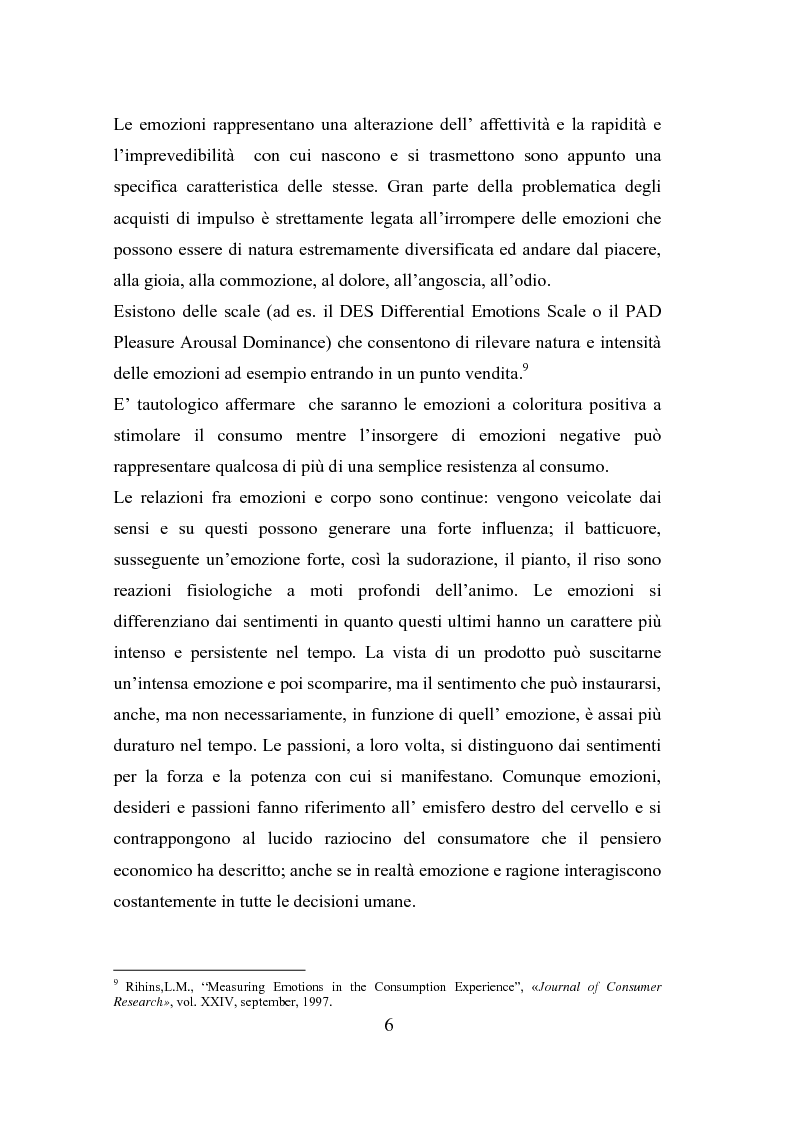 Anteprima della tesi: Il polisensualismo del consumatore: la riscoperta dell'olfatto, Pagina 10