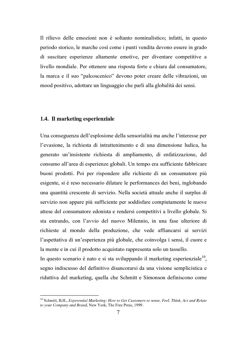 Anteprima della tesi: Il polisensualismo del consumatore: la riscoperta dell'olfatto, Pagina 11
