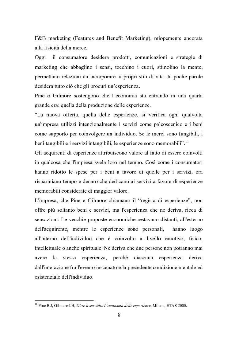 Anteprima della tesi: Il polisensualismo del consumatore: la riscoperta dell'olfatto, Pagina 12