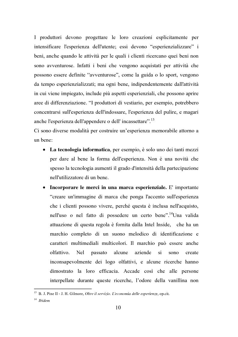 Anteprima della tesi: Il polisensualismo del consumatore: la riscoperta dell'olfatto, Pagina 14