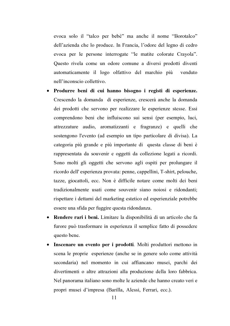Anteprima della tesi: Il polisensualismo del consumatore: la riscoperta dell'olfatto, Pagina 15