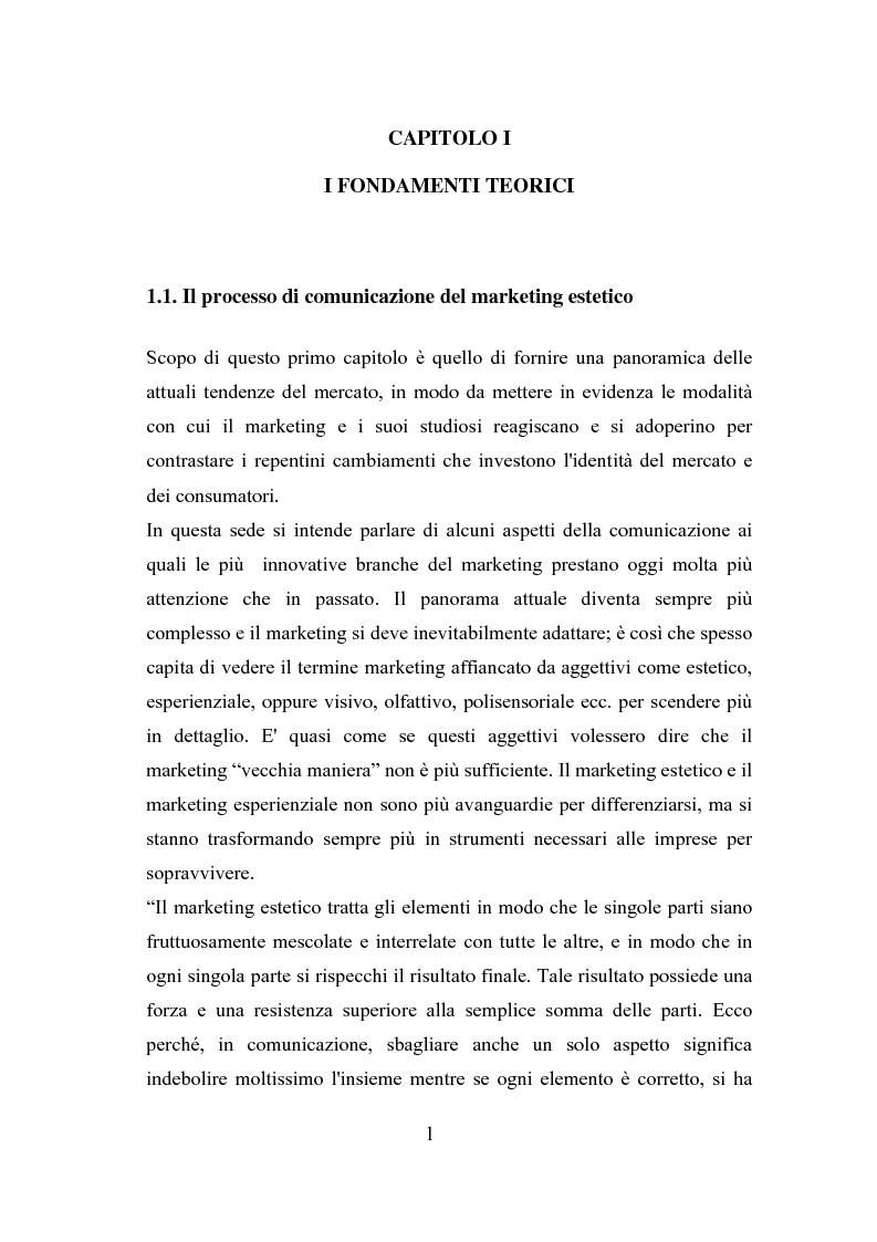 Anteprima della tesi: Il polisensualismo del consumatore: la riscoperta dell'olfatto, Pagina 5