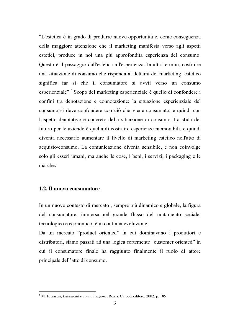 Anteprima della tesi: Il polisensualismo del consumatore: la riscoperta dell'olfatto, Pagina 7