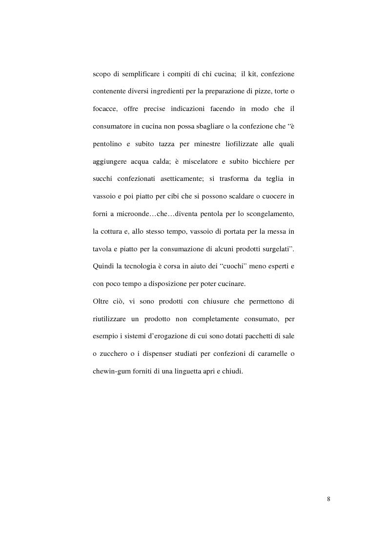 Anteprima della tesi: Aspetti psicologici sulla costruzione e fruizione del packaging, Pagina 6