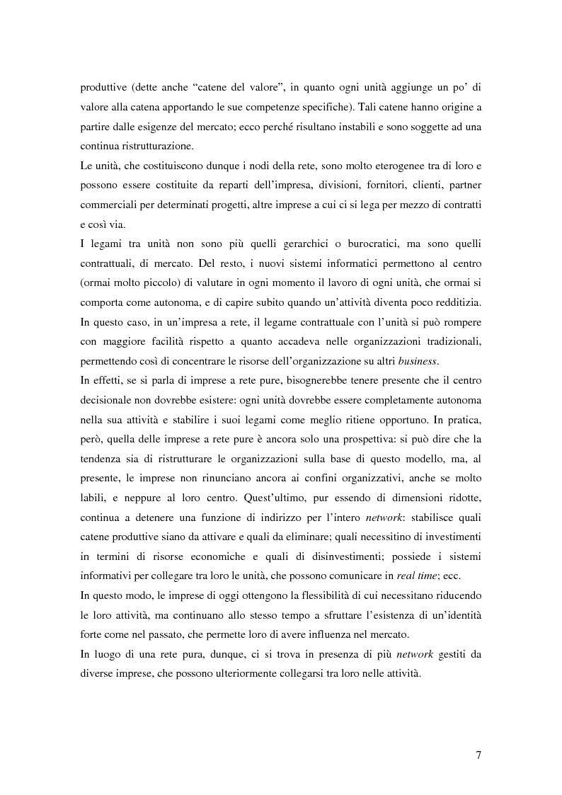 Anteprima della tesi: Verso il lavoro flessibile. I nuovi rapporti lavorativi nel settore bancario italiano., Pagina 10