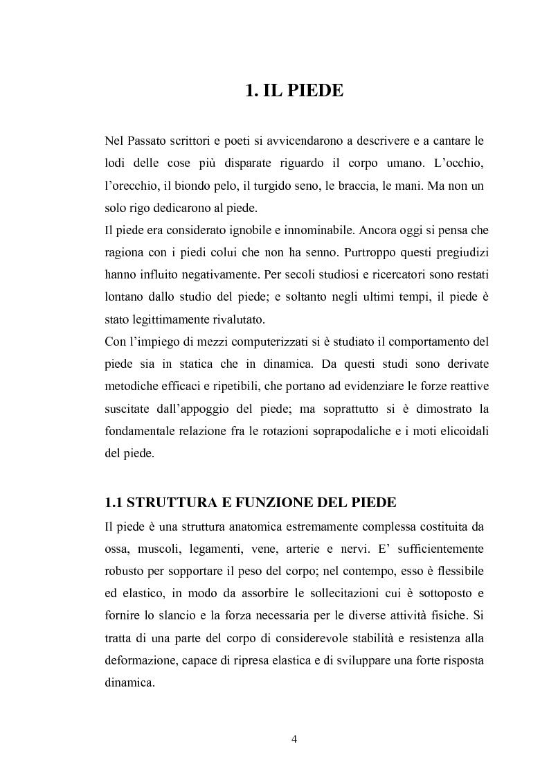 Anteprima della tesi: Disturbi dell'appoggio retropodalico, Pagina 2