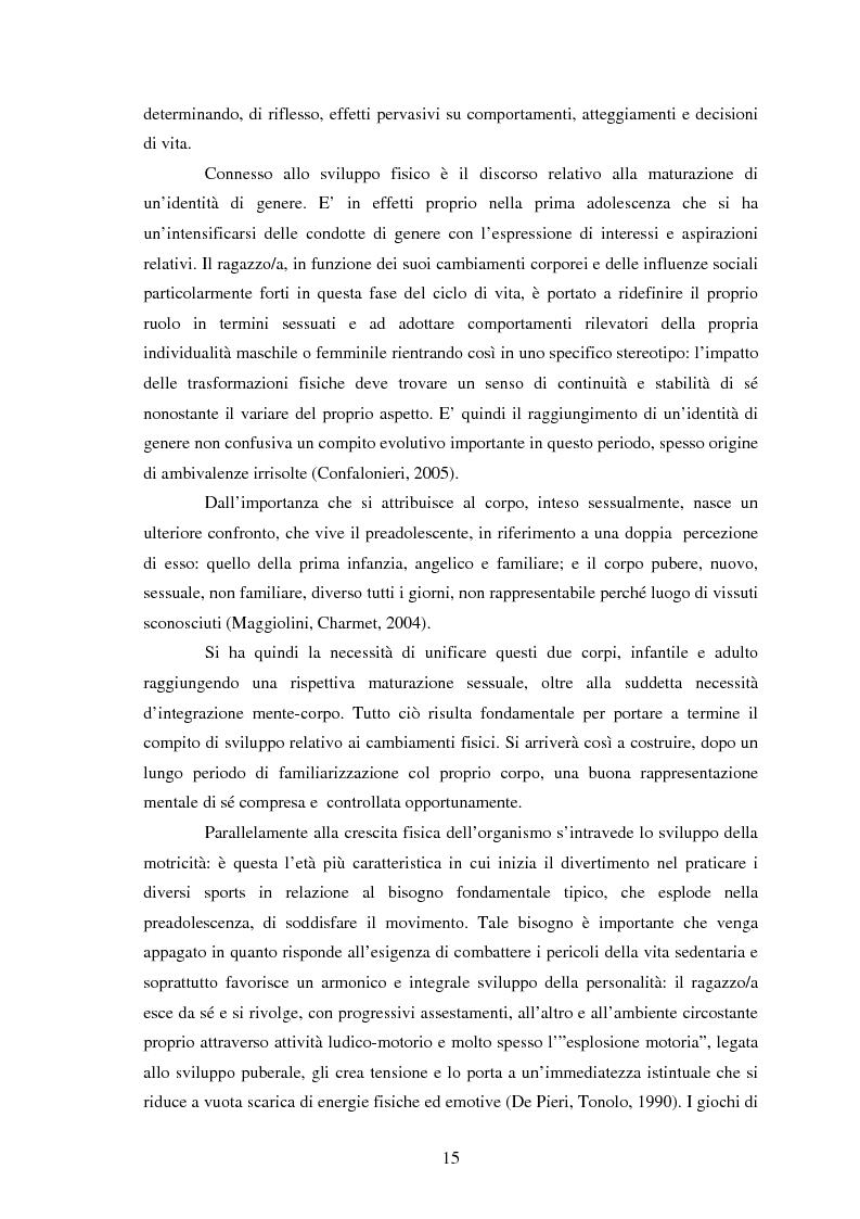 Anteprima della tesi: Modelli identificativi proposti in TV e autopresentazione in preadolescenza, Pagina 11