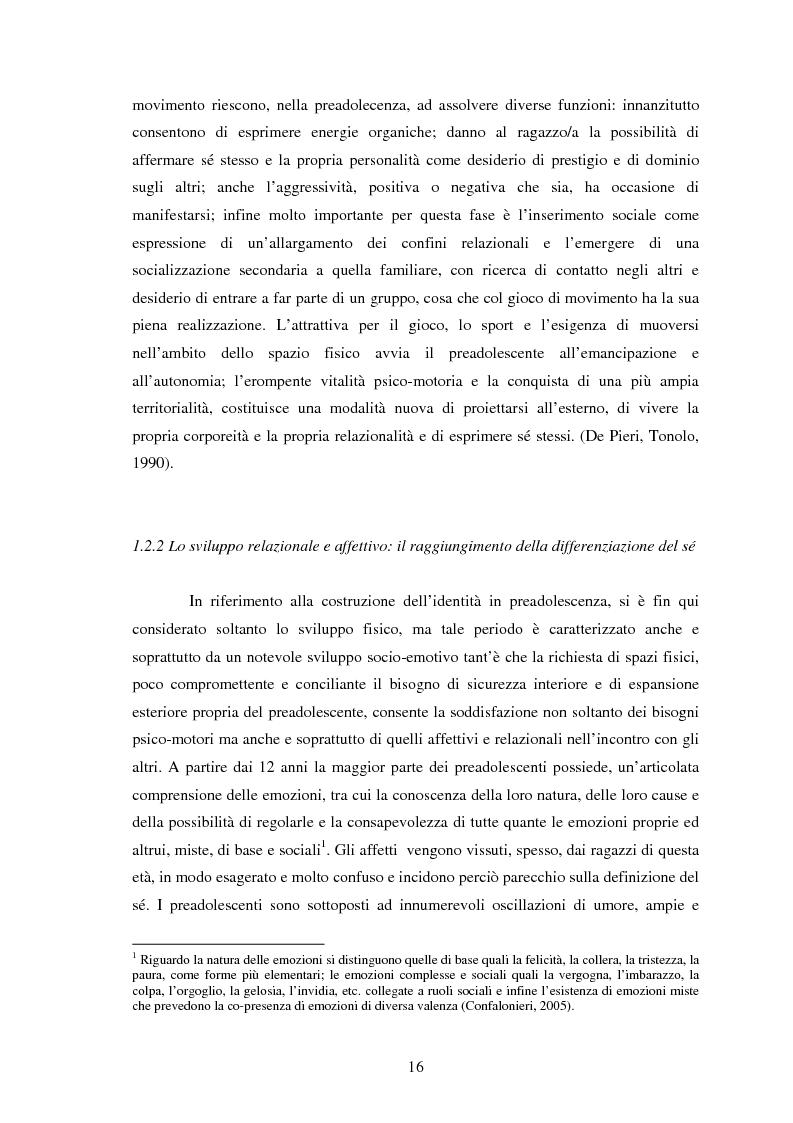 Anteprima della tesi: Modelli identificativi proposti in TV e autopresentazione in preadolescenza, Pagina 12