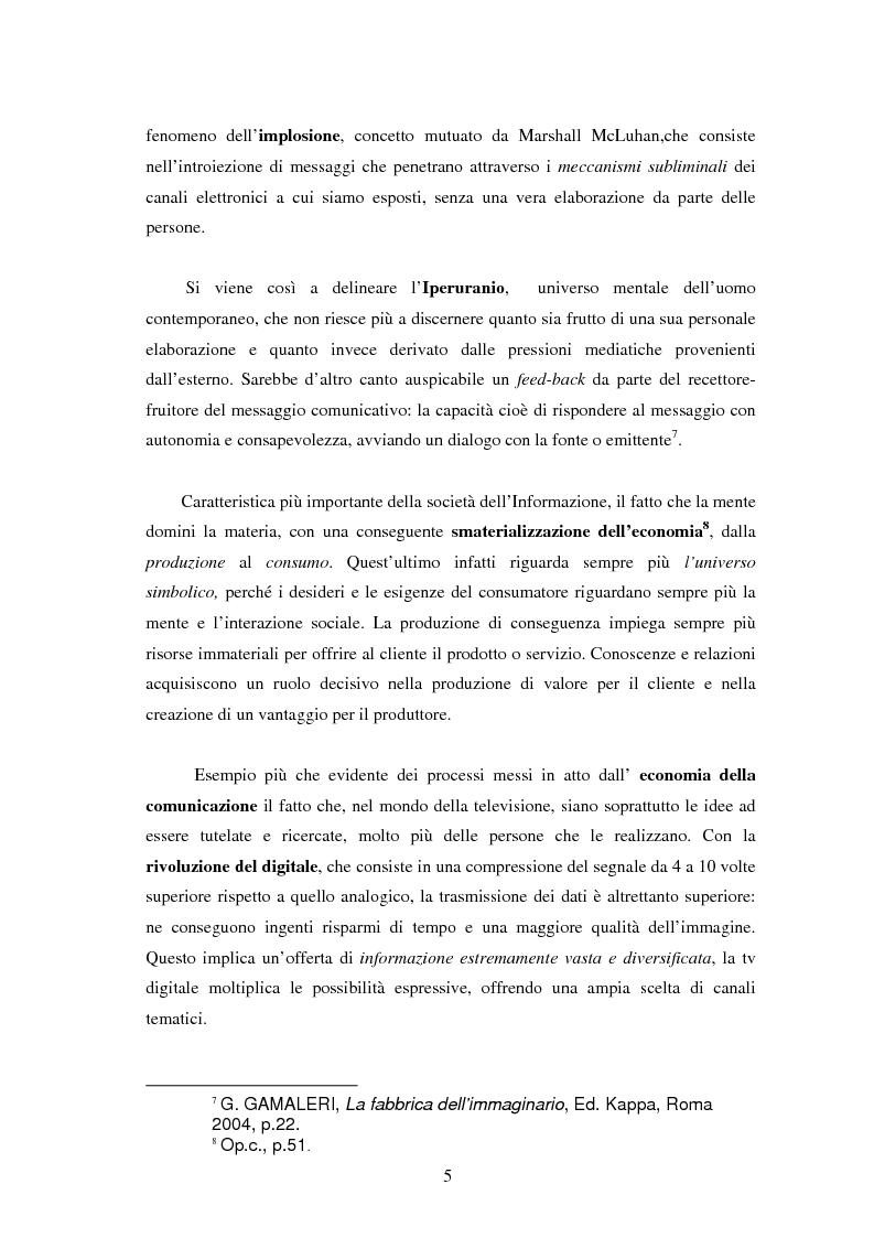 Anteprima della tesi: Le professioni del cinema e dello spettacolo nella civiltà dell'immateriale, Pagina 3