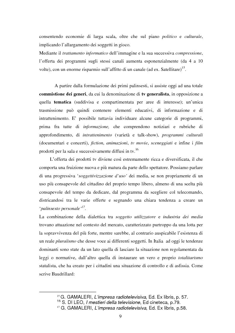 Anteprima della tesi: Le professioni del cinema e dello spettacolo nella civiltà dell'immateriale, Pagina 7