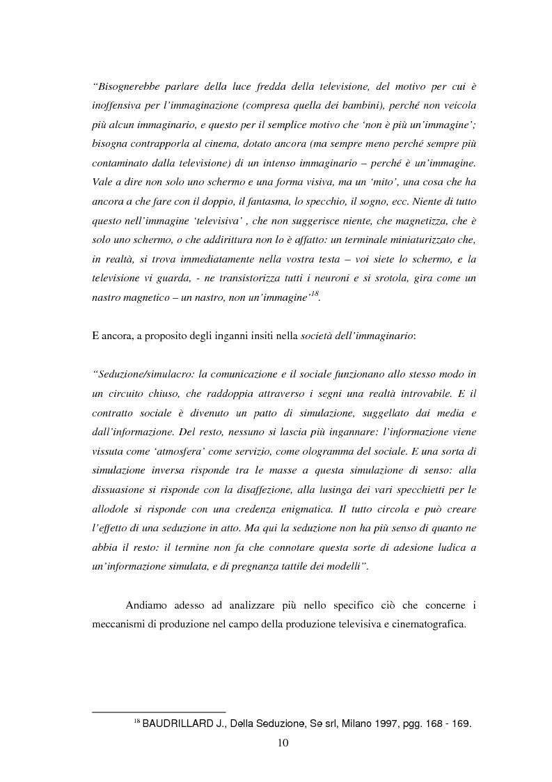 Anteprima della tesi: Le professioni del cinema e dello spettacolo nella civiltà dell'immateriale, Pagina 8