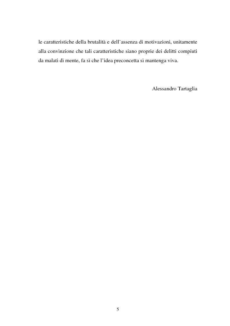 Anteprima della tesi: La responsabilità penale dello psichiatra: profili problematici e prospettive di riforma, Pagina 3