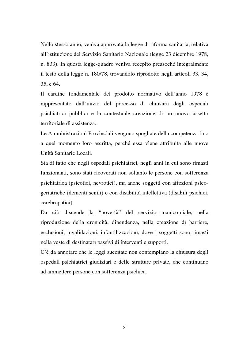 Anteprima della tesi: La responsabilità penale dello psichiatra: profili problematici e prospettive di riforma, Pagina 6