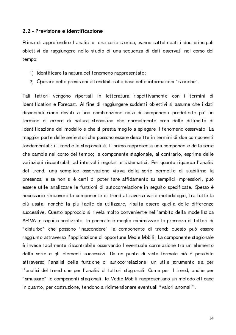 Anteprima della tesi: Analisi comparativa di modelli previsionali per la gestione degli spare parts attraverso l'utilizzo di un software applicativo, Pagina 10