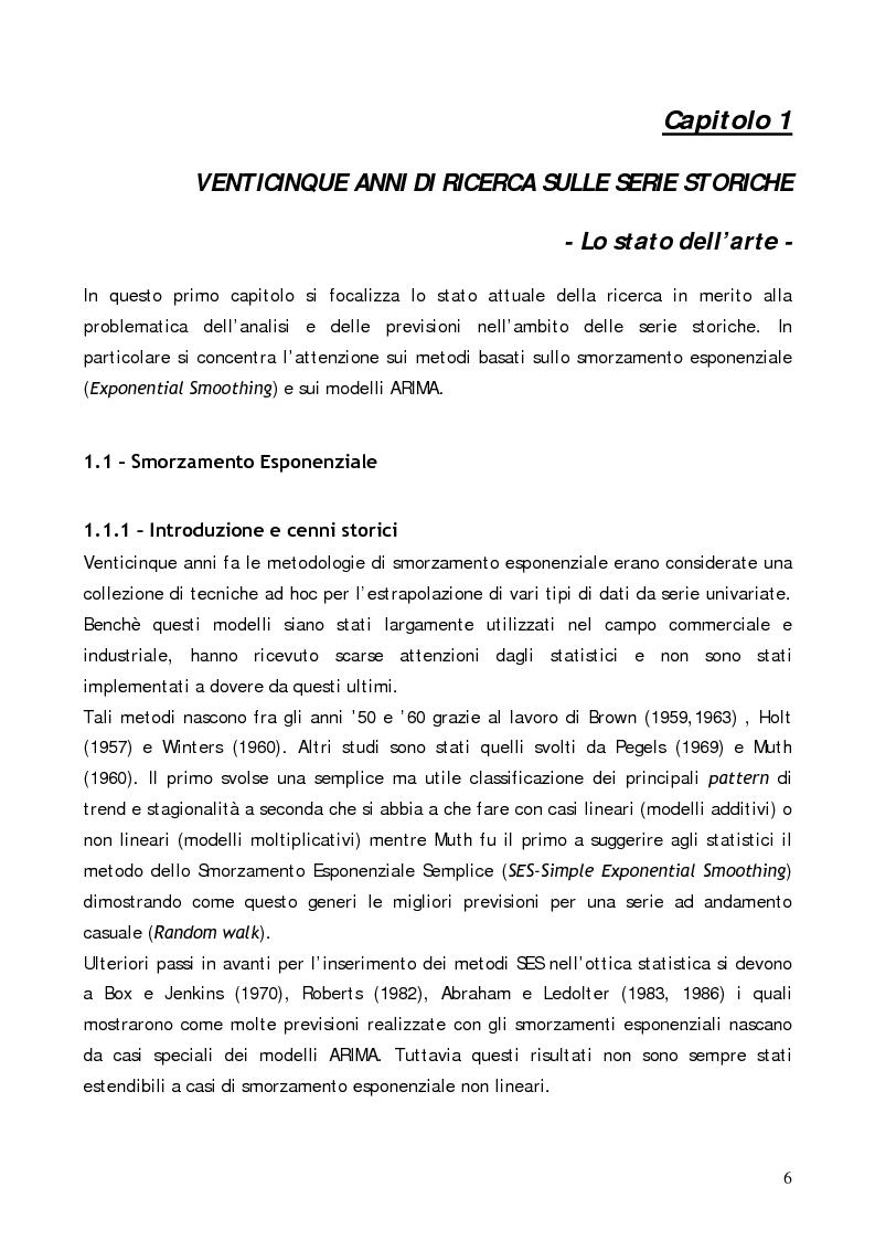 Anteprima della tesi: Analisi comparativa di modelli previsionali per la gestione degli spare parts attraverso l'utilizzo di un software applicativo, Pagina 2