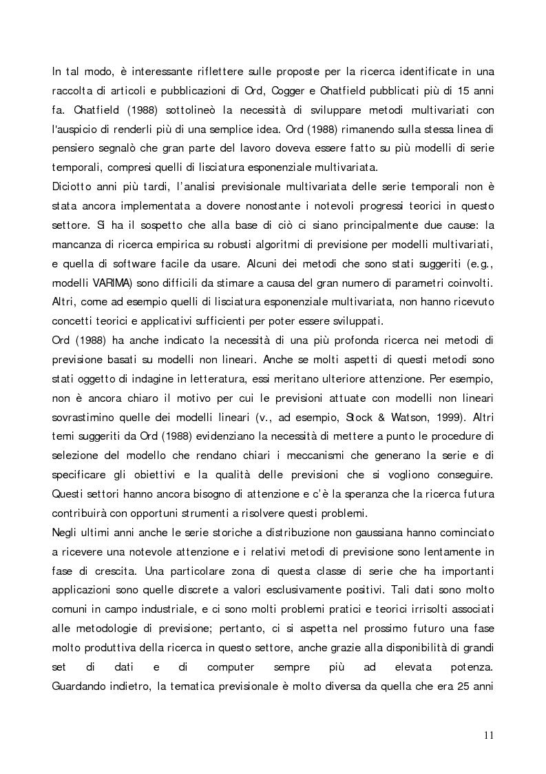 Anteprima della tesi: Analisi comparativa di modelli previsionali per la gestione degli spare parts attraverso l'utilizzo di un software applicativo, Pagina 7