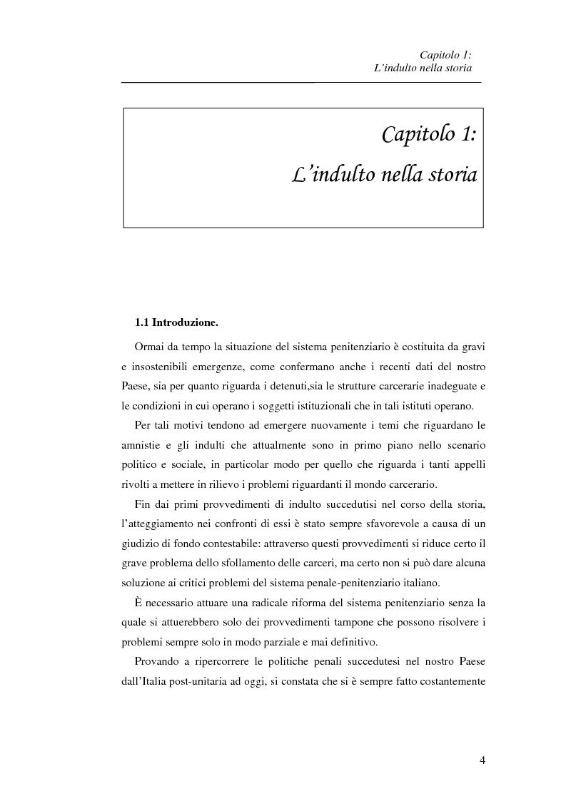 Anteprima della tesi: La recidiva post-indulto: aspetti psichiatrico-forensi, Pagina 4