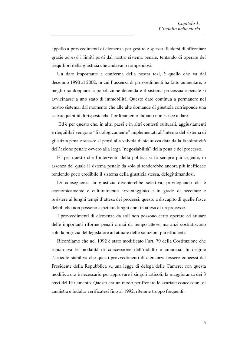 Anteprima della tesi: La recidiva post-indulto: aspetti psichiatrico-forensi, Pagina 5