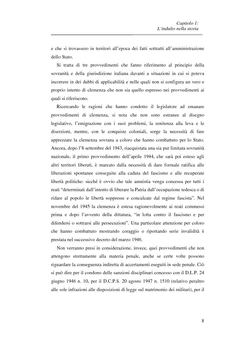 Anteprima della tesi: La recidiva post-indulto: aspetti psichiatrico-forensi, Pagina 8