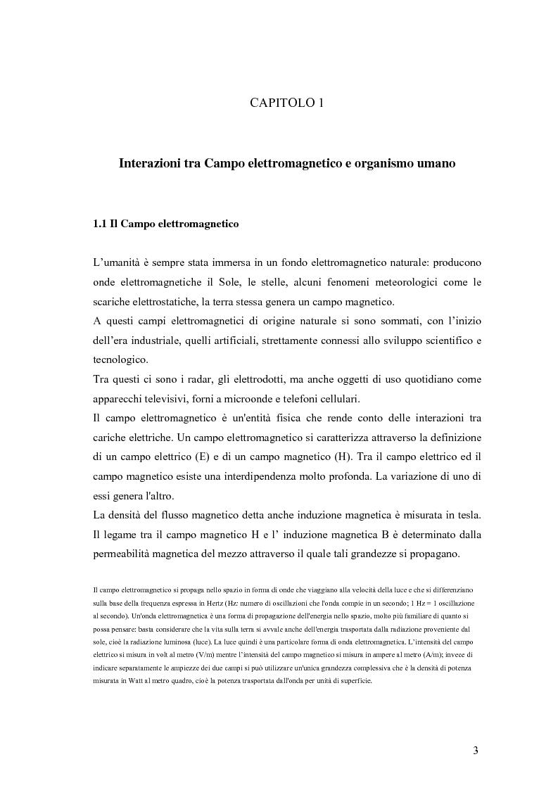 Anteprima della tesi: Caratteristiche del sonno e della vigilanza: l'influenza dell'uso del telefono cellulare, Pagina 2