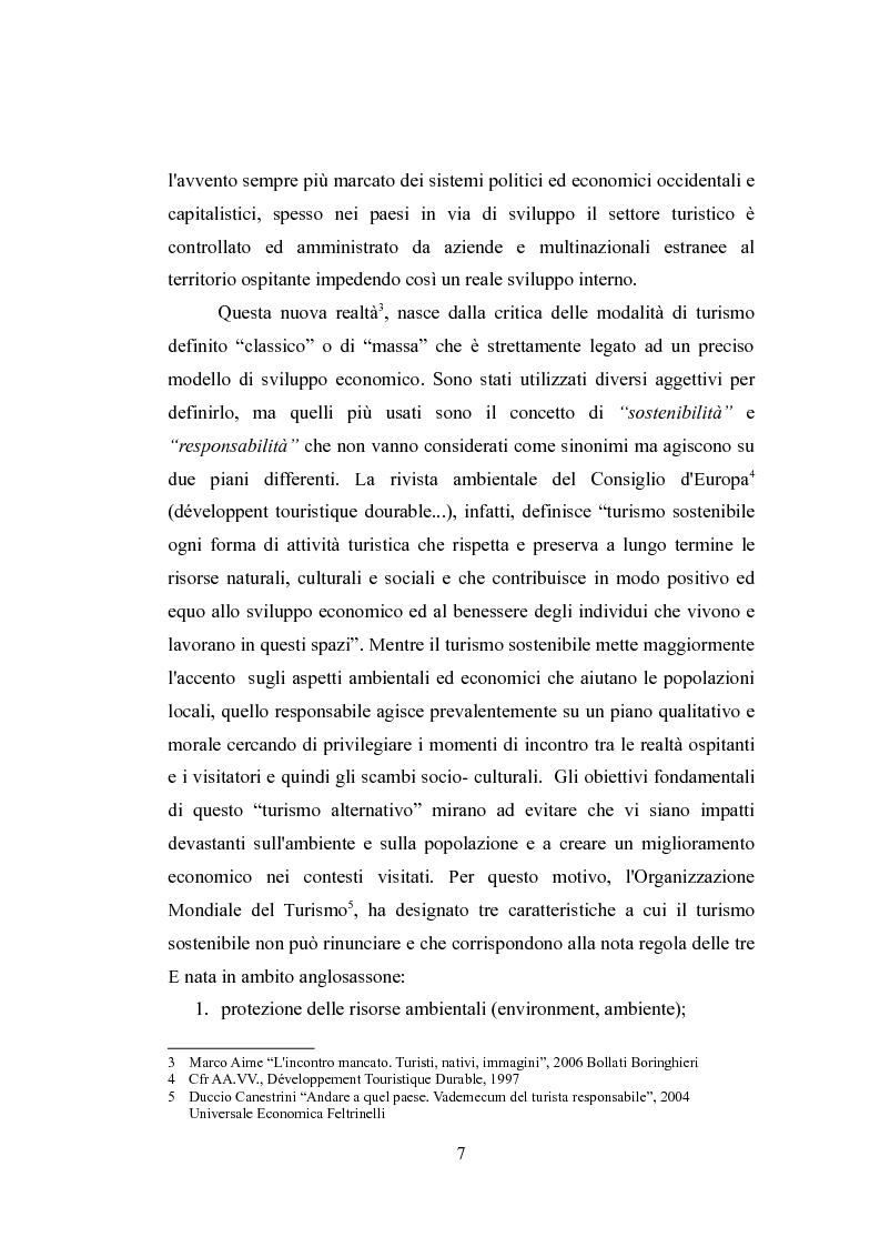 Anteprima della tesi: Un caso particolare di turismo responsabile in Senegal, Pagina 4
