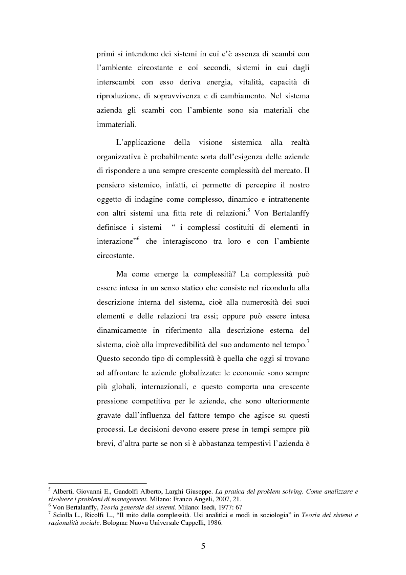 Anteprima della tesi: I processi cognitivi in un'azienda globalizzata, Pagina 3