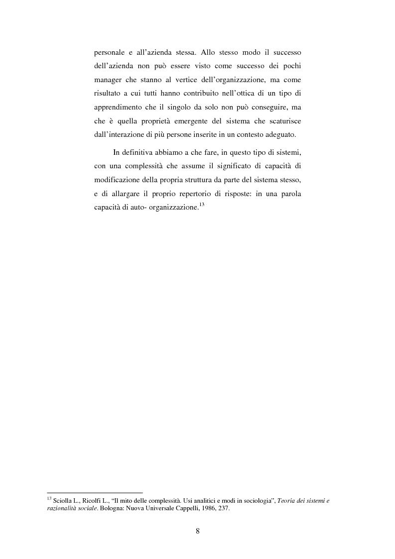 Anteprima della tesi: I processi cognitivi in un'azienda globalizzata, Pagina 6