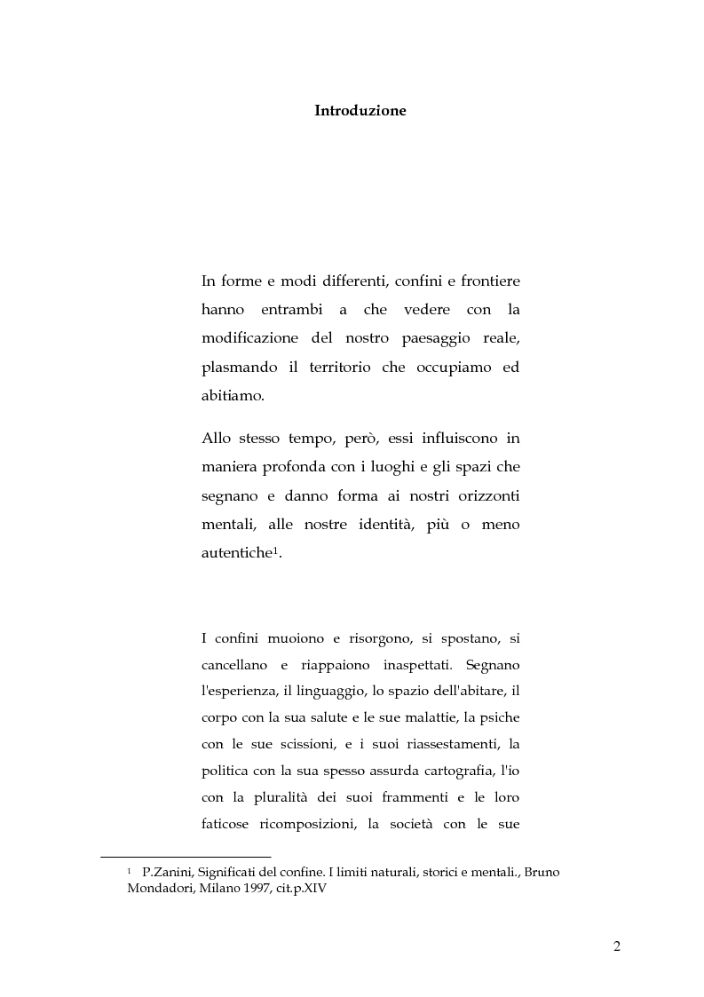 Anteprima della tesi: Le circoscrizioni ecclesiastiche e le circoscrizioni civili alla luce della normativa UE: il caso del Friuli Venezia Giulia, Pagina 1