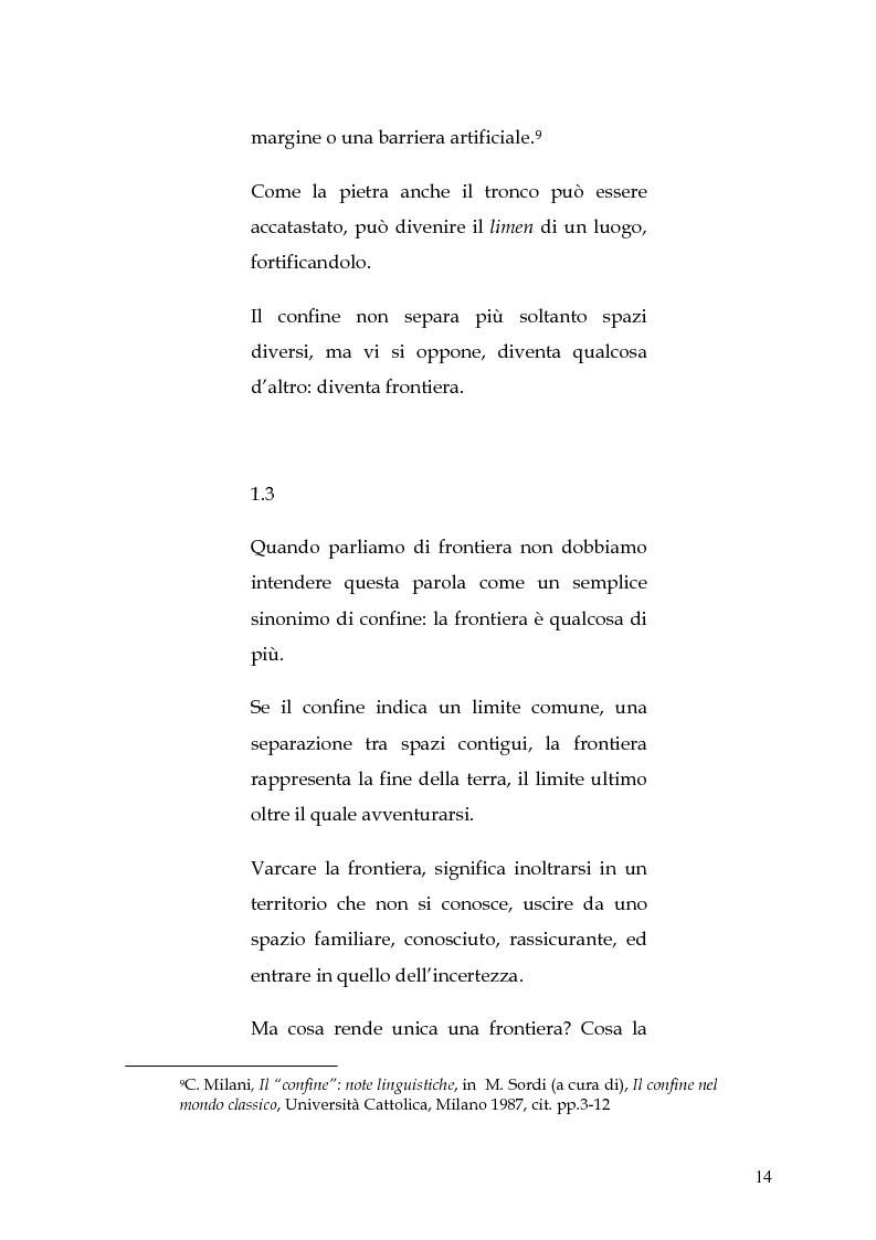 Anteprima della tesi: Le circoscrizioni ecclesiastiche e le circoscrizioni civili alla luce della normativa UE: il caso del Friuli Venezia Giulia, Pagina 13