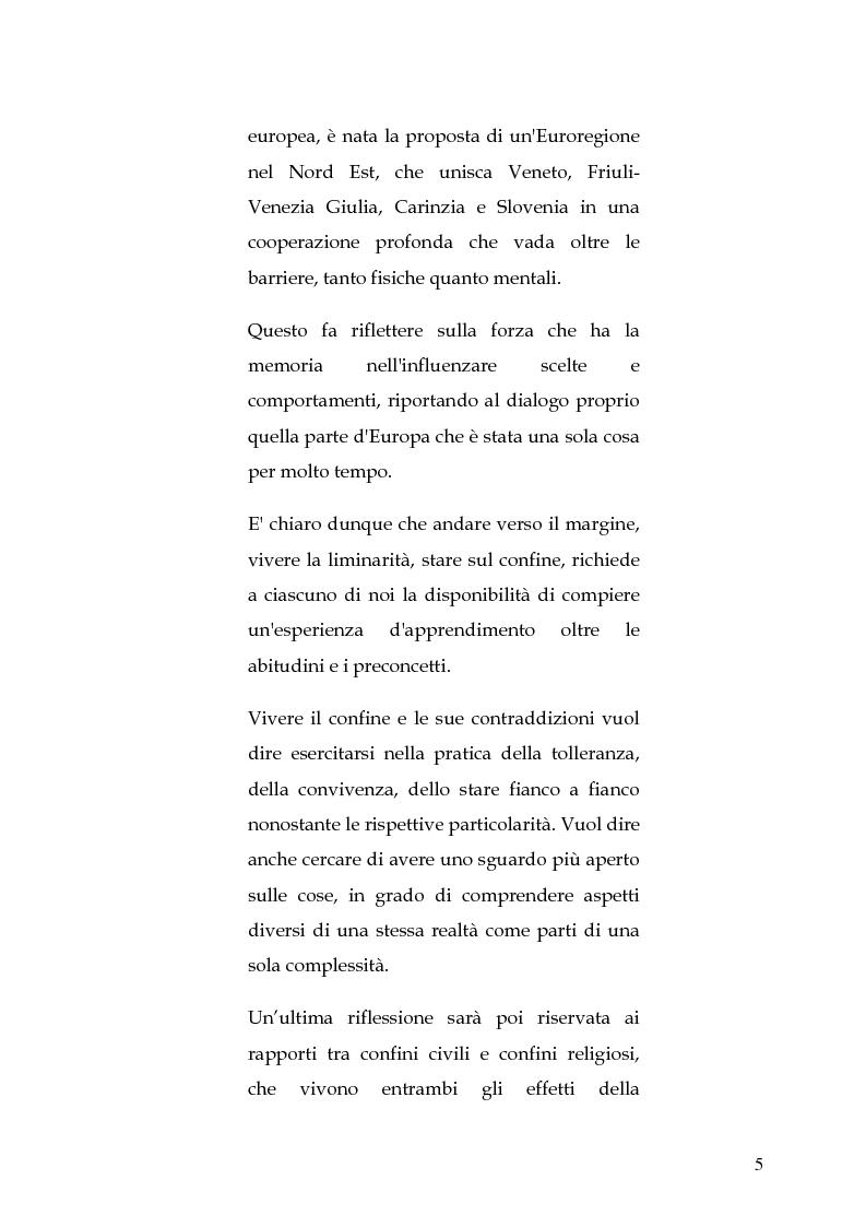 Anteprima della tesi: Le circoscrizioni ecclesiastiche e le circoscrizioni civili alla luce della normativa UE: il caso del Friuli Venezia Giulia, Pagina 4