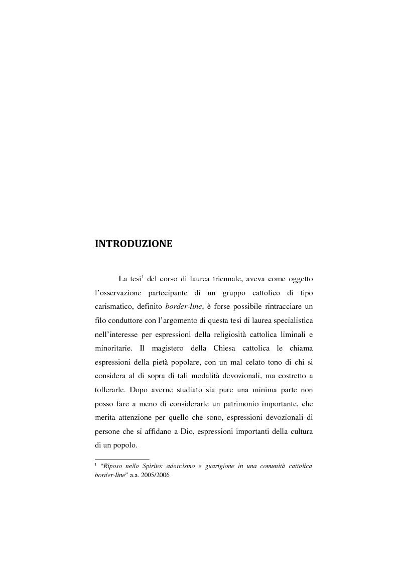 Anteprima della tesi: Mamma Schiavona, il Femminiello e l'Abate, Pagina 1